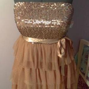 Deb Shops 2x NWT Strapless Dress